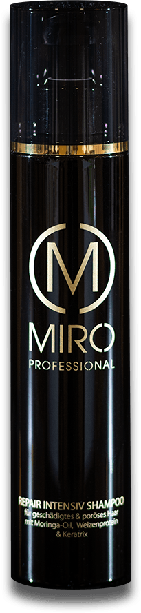 Repair Intensiv Shampoo vom Miro Hair & Beauty Team